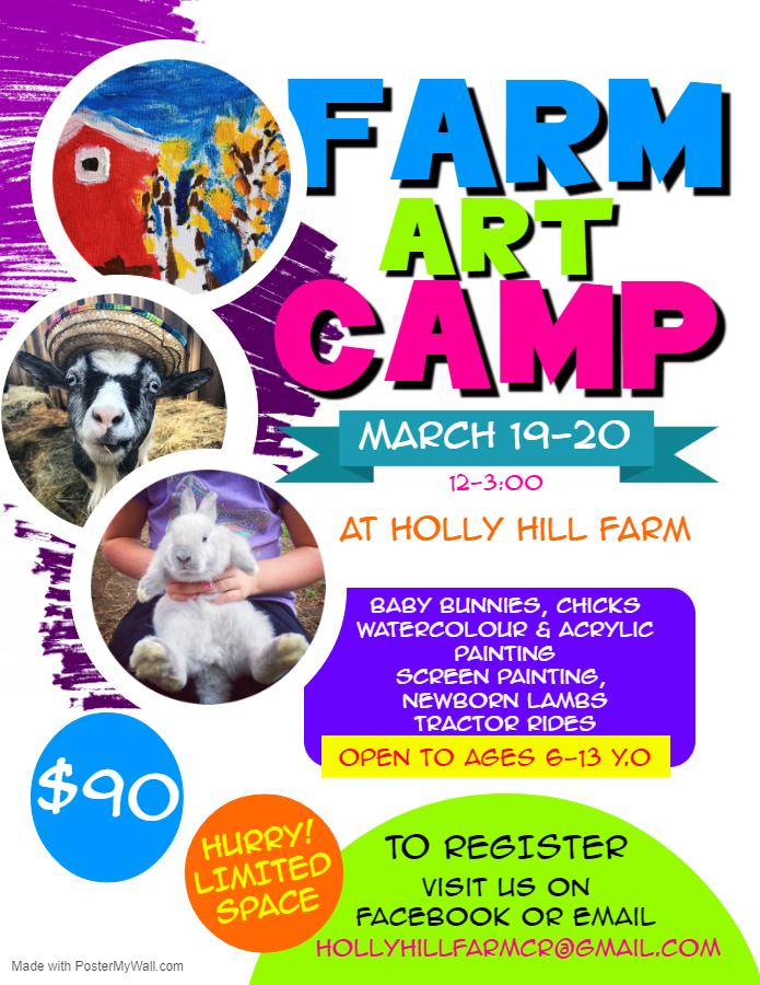 art spring camp
