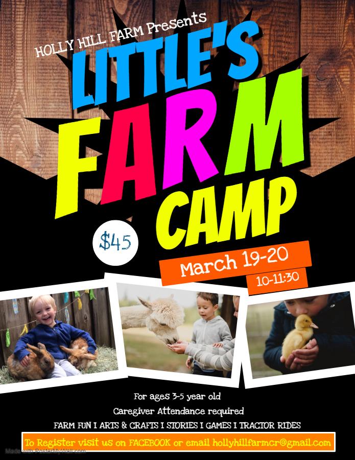little kids camp