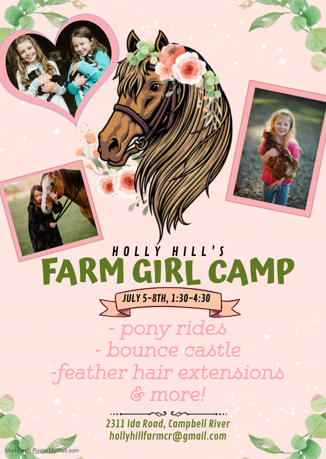 Copy of Cowgirl birthday invitation - Made with PosterMyWall (1)